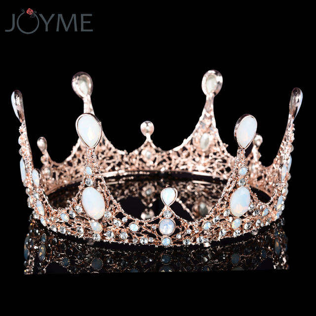 vintage prom pageant wedding princess crown bridal hair ornaments
