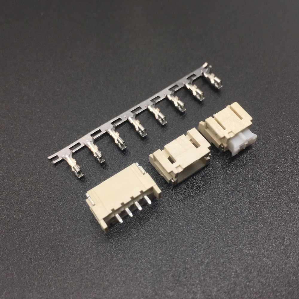30 piezas 2mm Horizontal hembra con paso de 2mm parche conector SMT SMD PH2.0 2,0mm conector SMD 2 P 3 P 4 P 5, P 6 P 7 P 8 P doctorado Kits