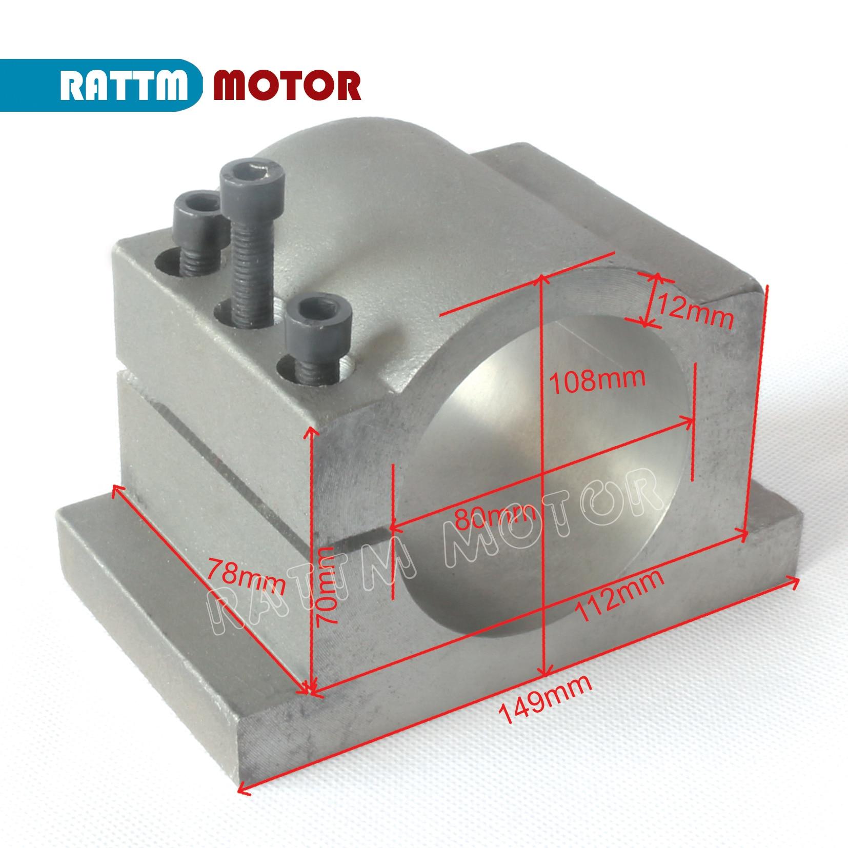 Купить с кэшбэком CNC Lathe 2.2kw Water Cooling spindle motor kit ER20 & 2.2kw Inverter VFD 2HP & 80mm Clamp & Water pump pipe for Router machine