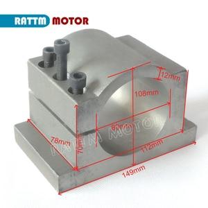 Image 5 - Tornio CNC 2.2kw motore mandrino Di Raffreddamento ad Acqua kit ER20 & 2.2kw Inverter VFD 2HP & 80 millimetri Morsetto e Acqua tubo della pompa per macchina del Router
