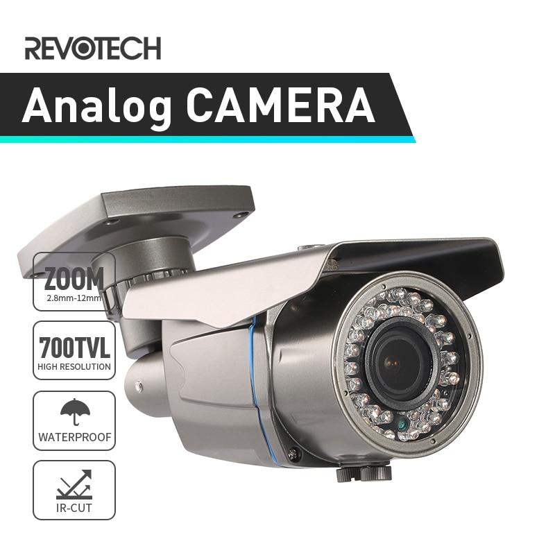 Waterproof Outdoor 700TVL Surveillance CCTV Camera Sony Effio E CCD CMOS 2 8 12mm Zoom Security