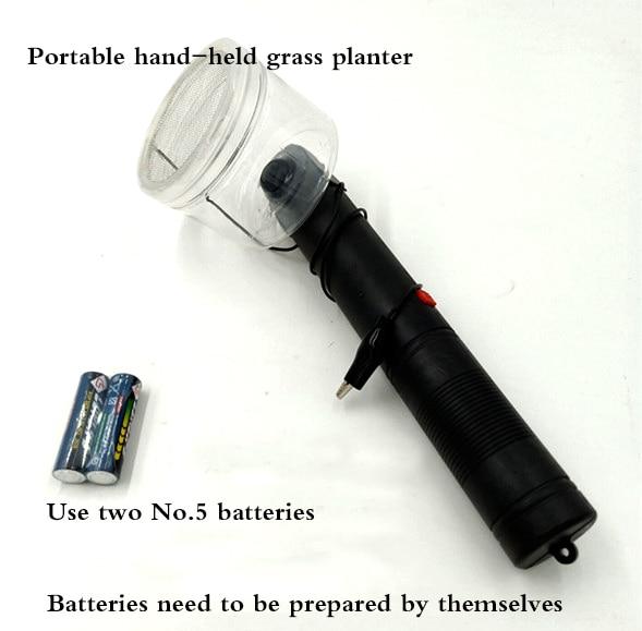 Portable Grass Planter Electrostatic Grass Planter DIY Model Tool For Sand Landscape Building Tools For Modeling Scene Scenario