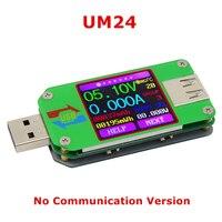 RD UM24C Color LCD Voltage Current Meter 2 0 USB Tester Voltmeter Ammeter Battery Charge Cable