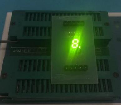 10PCS New And Original SMD 1 Bit 0.2 Inch Digital Tube LED Display Yellow Green/white  Light 7 Segment Common Anode