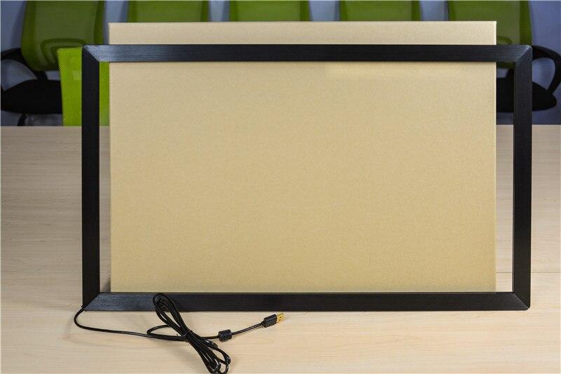 65 pouces 10 points IR écran tactile/IR cadre tactile pour moniteur LCD, écran LED, TV