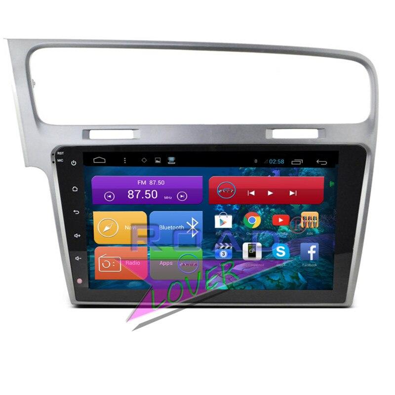 Roadlover Android 6.0 autoradio lecteur central Radio pour VW pour Volkswagen Golf 7 stéréo GPS Navigation 2 Din Automagnitol pas de DVD