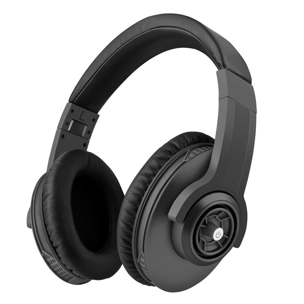 HIFI stéréo écouteurs bluetooth casque musique casque FM et support carte SD avec micro pour téléphone portable tablette OverEar 6.4A