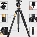 Q666 Q111 Q555 Q999 Professional Photographic Portable Tripod To Monopod+Ball Head For Canon For Pentax For Sony For DSLR Camera