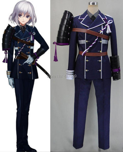 New Touken Ranbu Honebami Toushirou Cosplay Costume