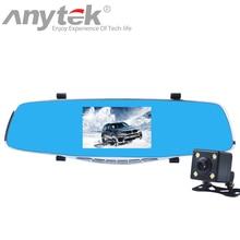 Wholesale prices Original Anytek X3 Night Vision Car Dvr detector Camera Blue Review Mirror DVR Digital Video Recorder Auto 1080P Dash cam