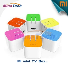 Original XiaoMi MIUI Android 4.4.2 TV Box Dual Band WiFi Bluetooth 4.0 HDMI Single Connection 1GB RAm 4GB rom MT8685 Quad Core