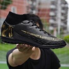 Мужские уличные футбольные бутсы дышащая обувь tf с длинными
