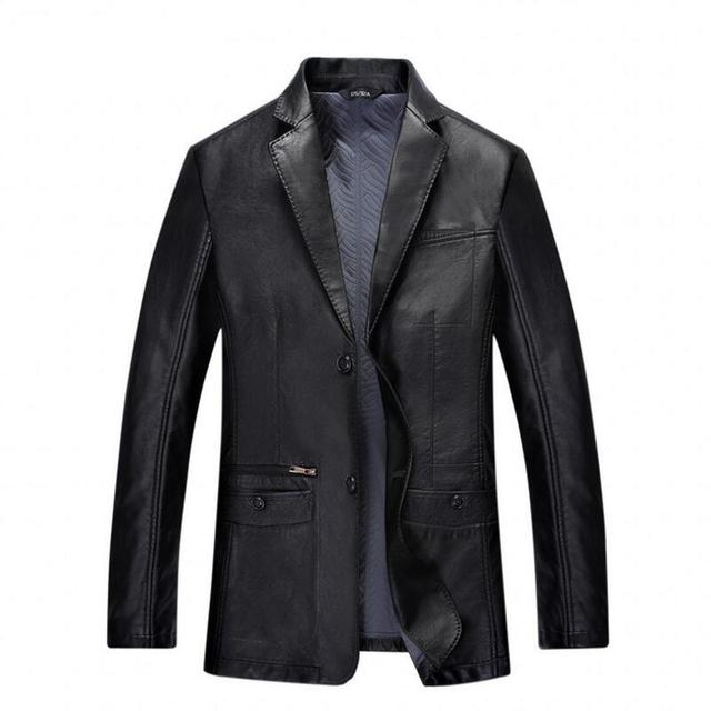 How to wear a black leather jacket mens