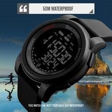 Brand Men Watch Luxury Calorie Pedometer Sport Wristwatch Waterproof Luminous Electronic Bracelet Mens Military Watches SKMEI