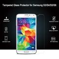 Premium 0.3mm 2.5d 9 h vidrio templado film protector de pantalla a prueba de explosiones para samsung galaxy s3 s4 s5 s6 s7 note 2 3 4 7 película