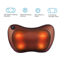 Body Health Care Electric Infrared Heating Massager 3D Kneading Neck Shoulder Back Relaxations Shiatsu Massage Pillow