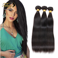 Febay 7a Unprocessed 100% Human Hair Brazillian Virgin Hair Straight 100g /Bundle Brazilian Straight Hair Human Hair Extensions