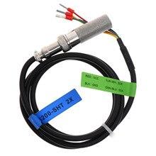 ยอมรับOEM CableความยาวSHT10 SHT11 SHT15 SHT20 SHT21 SHT25 I2Cเอาต์พุต 1 Meterอุณหภูมิและความชื้นSensor Probe