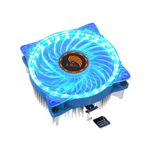 Mokingtop 2018 New PC Cool Fan 25 LED Quite 92mm DC 12V 3Pin 75W Mute PC Computer Case Cooling Cool Fan Mod Easy to Install#30(China)