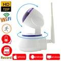 Ip-камера 720 P HD wi-fi видеонаблюдения системы безопасности wi-fi домашней беспроводной карта micro sd мини ipcam ик ptz наблюдения cam