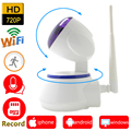 ip camera 720p HD wi-wifi cctv security system wifi home wireless micro sd card mini ipcam infrared surveillance ptz cam