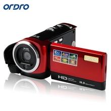 "ORDRO Face Recognition Mini DV HDV-107 Digital Video Recorder Camcorder Camera HD 720P DVR 2.7"" TFT LCD Screen 16xZOOM"