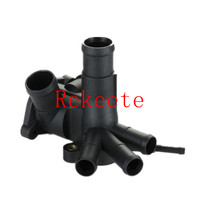 100pcs Auto Cooling System Thermostat Housing Thermostat Cover Thermostat Coolant Water Outlet 030 121 117L 030121117L