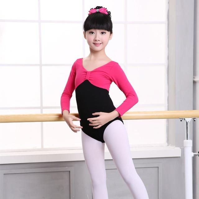 0daaa467c Ballerina clothes girls leotard gymnastics modern dance costume free ...