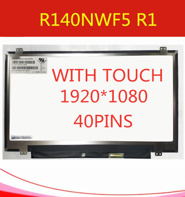 R140NWF5-IVO-LCD-LED-Display-with-Touch-Screen-Digitizer-Assembly-for-Lenovo-Fru-00NY421-PN-SD10K93460