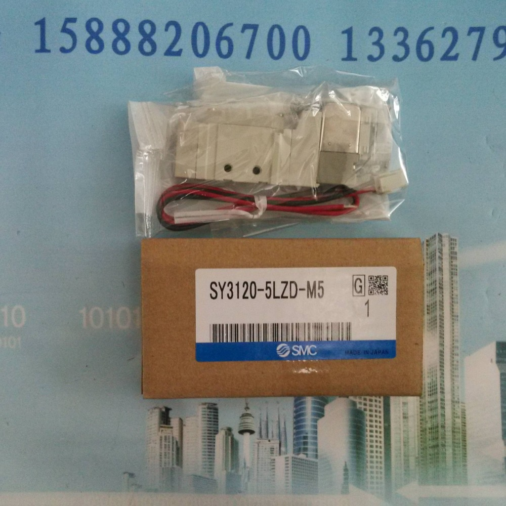 SY3120-5LZD-M5 SMC solenoid valve electromagnetic valve pneumatic component dhl ems 5 lots for smc sy3120 5lzd c4 sy31205lzdc4 solenoid valve a1