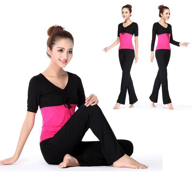 e5b49ba36af59 S XXL!Autumn 2pc sets Plus Size Women s Yoga Sets Fitness Tracksuit ...
