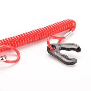 JETTING Red 1 шт. лодочный подвесной мотор, шнур, выключатель, страховочный трос
