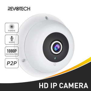 Image 1 - Audio Fisheye FHD 1920 x 1080P 2.0MP 3 Array LED Night Vision Panoramic IP Camera Security ONVIF P2P IP CCTV Cam System