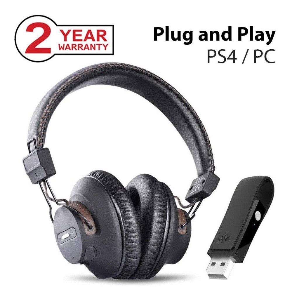 Avantree DG59 casque de jeu sans fil micro et Bluetooth USB transmetteur Audio PC PS4 N directeur commutateur ordinateur de bureau