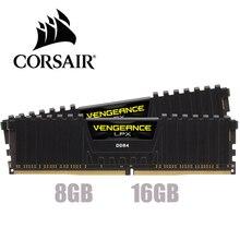 CORSAIR Vengeance LPX, 8 go, 16 go, 32 go DDR4 PC4, 2400Mhz, 3000Mhz, 3200Mhz, 2666mhz, 3600 ram, ordinateur de bureau de mémoire ram, DIMM, 8 go, 16 go