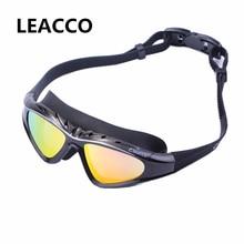 Prescription Optical Myopia Swimming goggles professional diopter Swim pool Silicone Large frame swimming glasses