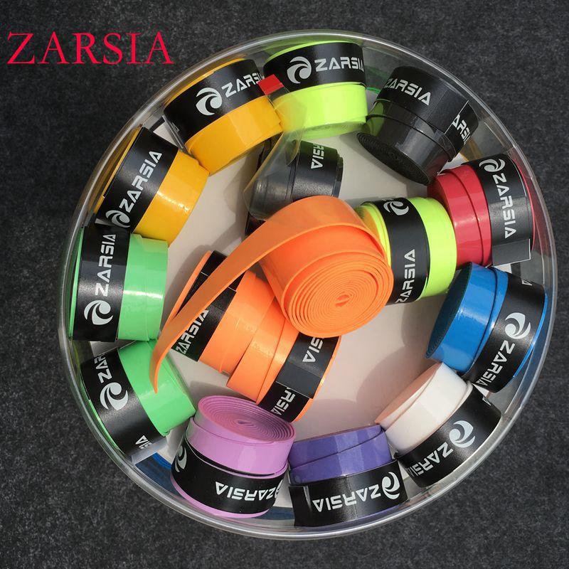 60 pecs/lot ZARSIA sticky viscous Overgrip tennis grip regular Badminton Grip,tennis overgrips,tennis product supplier blue grip 0 50