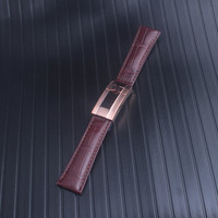 Brown High quality 20mm leather strap FOR ROX SKY DWELLER submariner Man's bracelet