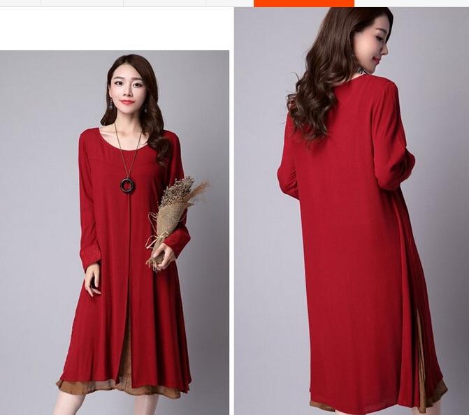2017 nova jesenska korejska žena velike veličine lažna dva - Ženska odjeća - Foto 4