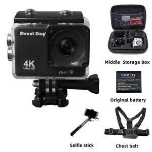 Image 2 - Ultra HD 4K Sport Action Kamera Wifi 170D 30fps Gehen pro Zubehör Selfie Stick Brustgurt Gürtel Für Sport video Action Cam