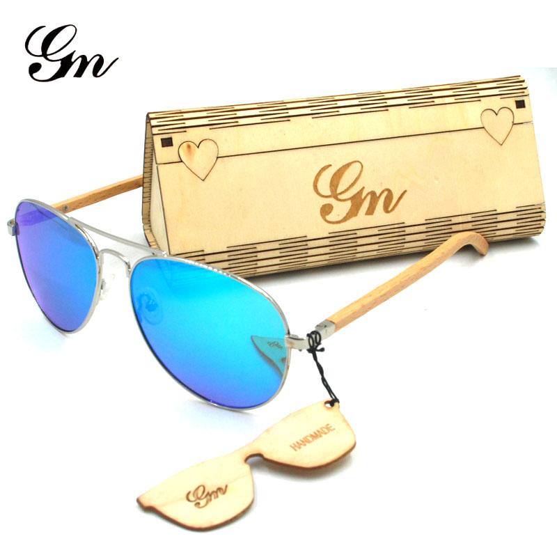 HTB1zugQenTI8KJjSsphq6AFppXaf - G M Sunglasses  Women Brand Design Mirror Sun Glasses  Wood Sunglasses
