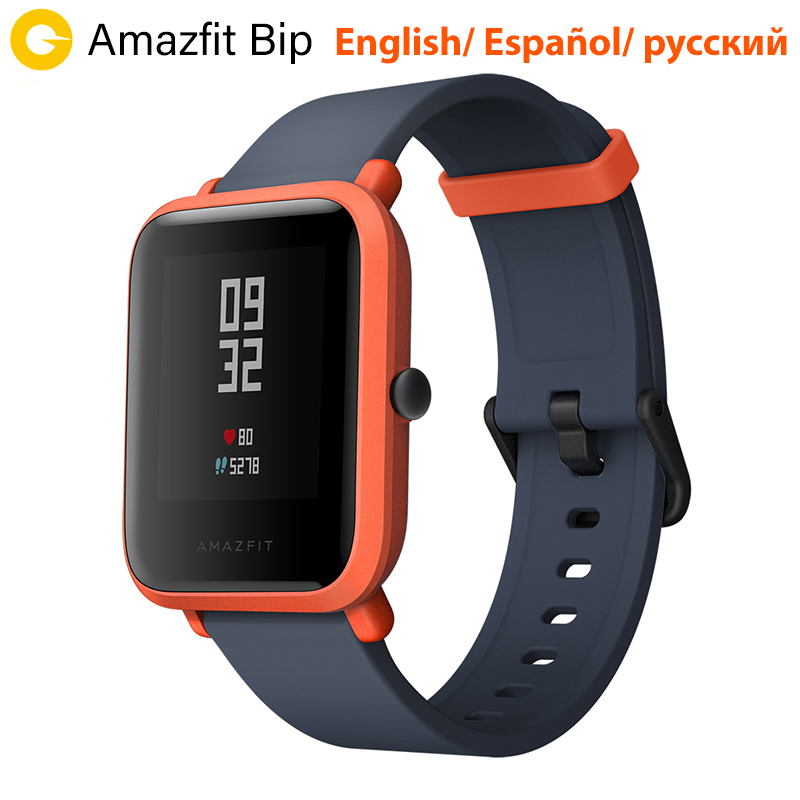 Huami Amazfit Bip Amazfit Smart Uhr GPS Bluetooth Heart Rate Monitor 45 Tage Batterie Lebensdauer IP68 Wasserdicht Männer Frauen Smartatch