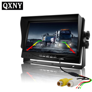 Image 2 - Auto Camera High Definition 7 Inch Digitale Lcd Auto Monitor,, Ideaal Voor Dvd, Vcr Display, voertuig Camers Auto Elektronica