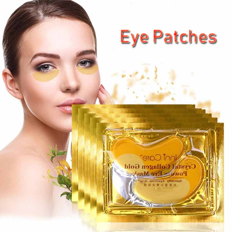 20pcs Gold Crystal Collagen Eye Mask Eye Patches Eye Mask For Face Care Dark Circles Remove Gel Mask for the Eyes Ageless   20pcs Gold Crystal Collagen Eye Mask Eye Patches Eye Mask For Face Care Dark Circles Remove Gel Mask for the Eyes Ageless