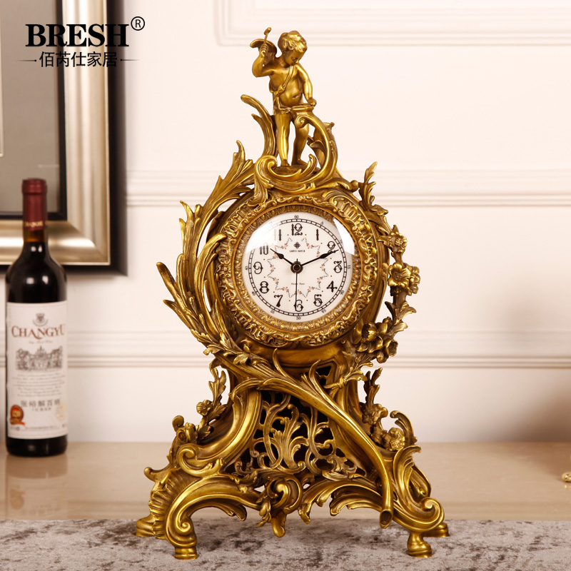 Online Buy Wholesale fireplace clock from China fireplace clock ... : fireplace clock : Fireplace Design