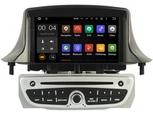 """Quad Core Android 5.1.1 car dvd player For 7"""" RENAULT Megane II/Fluence (2009-2013) gps bluetooth radio stereo DVR 3G Map camera"""
