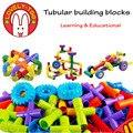 Encantadores Tubulares bloques de construcción ninjago Bebé ladrillo Juego juguetes educativos para los niños Regalo de Año Nuevo