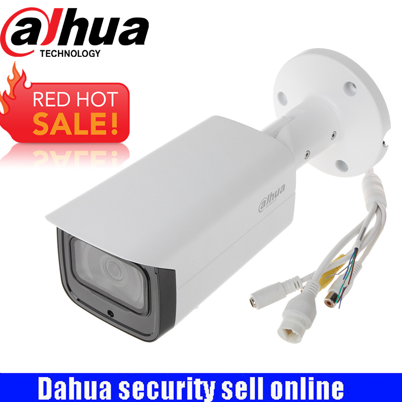 DAHUA Security IP Camera 2MP WDR IR Mini Bullet Network Camera IP67 IK10 With POE With Logo IPC-HFW4231T-ASE free shipping dahua cctv camera 4k 8mp wdr ir mini bullet network camera ip67 with poe without logo ipc hfw4831e se