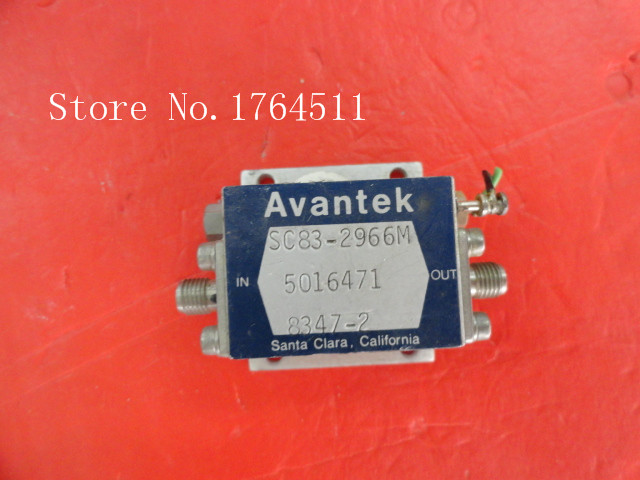 [BELLA] AVANTEK SC83-2966M 15V SMA Low Noise Amplifier