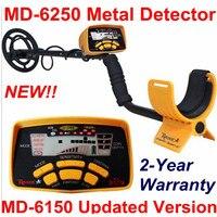 MD 6250 Professional Underground Metal Detector Gold Detector Treasure Finder Metal Detector MD6250 Gold Digger Treasure
